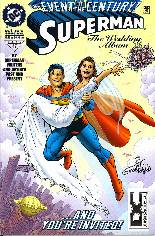 Superman: The Wedding Album #1 Variant E: DF Signed Edition; Signed by Joe Rubinstein; Limited to 4000 Copies w/ COA
