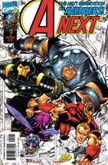 A-Next (1998-1999) #2 Variant B: Cover: Four Characters on B&W Background