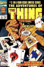 Adventures of the Thing (1992) #3 Variant B: Direct Edition, New Back-Up Story