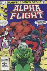 Alpha Flight (1983-1994) #2 Variant B: Direct Edition