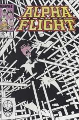 Alpha Flight (1983-1994) #3 Variant B: Direct Edition