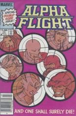 Alpha Flight (1983-1994) #12 Variant A: Newsstand Edition