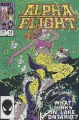 Alpha Flight (1983-1994) #14 Variant B: Direct Edition