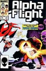 Alpha Flight (1983-1994) #31 Variant B: Direct Edition