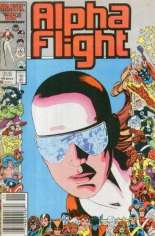 Alpha Flight (1983-1994) #40 Variant A: Newsstand Edition