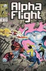 Alpha Flight (1983-1994) #61