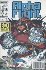 Alpha Flight (1983-1994) #65