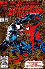 Amazing Spider-Man (1963-1998) #375 Variant B: Direct Edition; Gold Foil Cover