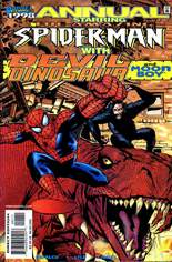 Amazing Spider-Man (1963-1998) #Annual 1998 Variant B: Direct Edition; Wraparound Cover