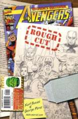 Avengers (1998-2004) #1 Variant D: Rough Cut Edition