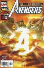 Avengers (1998-2004) #1 Variant C: Sunburst Cover