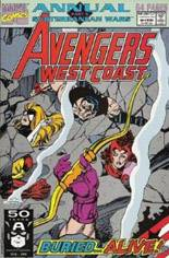 Avengers West Coast (1989-1994) #Annual 6 Variant B: Direct Edition