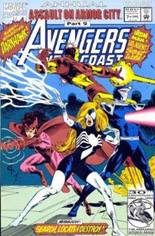 Avengers West Coast (1989-1994) #Annual 7 Variant B: Direct Edition