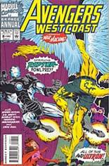 Avengers West Coast (1989-1994) #Annual 8 Variant B: Direct Edition