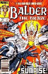 Balder the Brave (1985-1986) #4 Variant A: Newsstand Edition