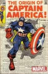 Captain America (1968-1996) #109 Variant C: Marvel Legends Series I Reprint Packaged w/ Captain America