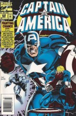 Captain America (1968-1996) #425 Variant A: Newsstand Edition; Red Foil Cover