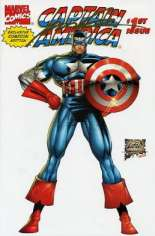 Captain America (1996-1997) #1 Variant E: Gold Signature Exclusive Comicon Edition