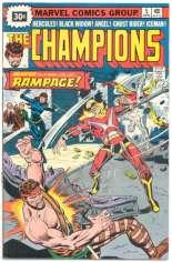Champions (1975-1978) #5 Variant B: 30 Cent Variant