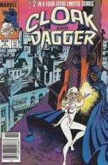 Cloak and Dagger (1983-1984) #2 Variant A: Newsstand Edition