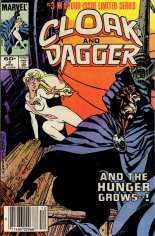 Cloak and Dagger (1983-1984) #3 Variant A: Newsstand Edition