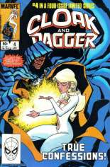 Cloak and Dagger (1983-1984) #4 Variant B: Direct Edition