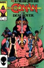 Conan the Destroyer (1985) #2 Variant B: Direct Edition