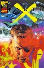 Earth X (1999-2000) #.5: Wizard 1/2 w/ COA