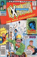 Excalibur (1988-1998) #-1 Variant A: Newsstand Edition