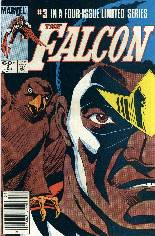 Falcon (1983-1984) #3 Variant A: Newsstand Edition
