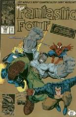 Fantastic Four (1961-1996) #348 Variant C: 2nd Printing; Gold Cover