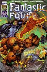 Fantastic Four (1996-1997) #1 Variant E: Gold Signature Edition