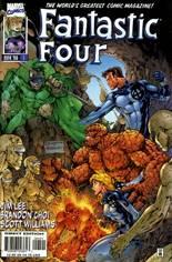 Fantastic Four (1996-1997) #1 Variant D: Variant Cover