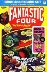 Power Records Book and Record Set (45 RPM) (1974-1978) #13 Variant A: Includes 45 RPM Record; Rewrite of Fantastic Four (1961-1996) #126