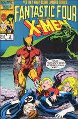 Fantastic Four vs. X-Men (1987) #2 Variant B: Direct Edition