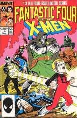 Fantastic Four vs. X-Men (1987) #3 Variant B: Direct Edition
