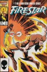 Firestar (1986) #2 Variant B: Direct Edition