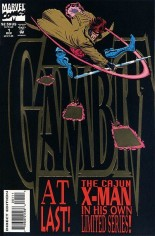 Gambit (1993-1994) #1 Variant B: Direct Edition; Gold Foil Embossed Cover