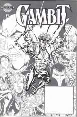Gambit (1999-2001) #1 Variant H: Authentix Printed Sketch Variant