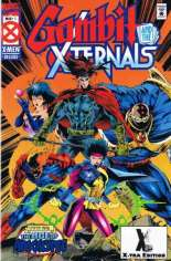Gambit and the X-Ternals (1995) #1 Variant C: 2nd Printing