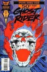 Ghost Rider (1990-1998) #50 Variant B: Direct Edition; Standard Cover