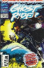 Ghost Rider (1990-1998) #Annual 1 Variant B: Polybagged w/ Trading Card