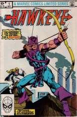 Hawkeye (1983) #1 Variant B: Direct Edition