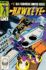 Hawkeye (1983) #2 Variant B: Direct Edition