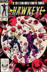 Hawkeye (1983) #3 Variant B: Direct Edition