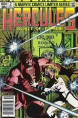 Hercules (1982) #2 Variant A: Newsstand Edition