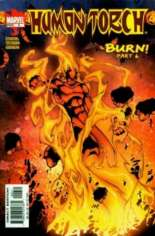 Human Torch (2003-2004) #6 Variant B: Direct Edition
