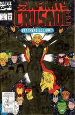Infinity Crusade (1993) #1 Variant B: Direct Edition; Gold Foil Cover