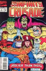 Infinity Crusade (1993) #4 Variant B: Direct Edition
