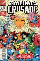 Infinity Crusade (1993) #5 Variant B: Direct Edition